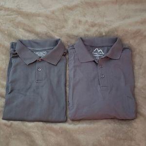 Gray Polo Shirt Bundle